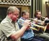 Derek Watkins playing with BBC
